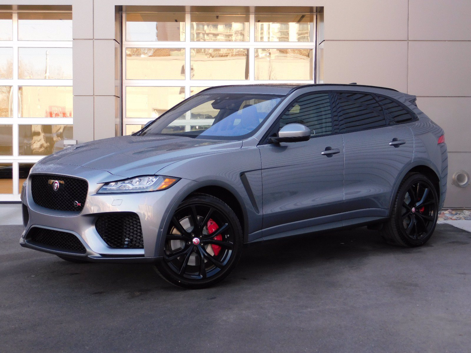 New 2020 Jaguar F-PACE SVR SUV in Salt Lake City #1J0045 ...