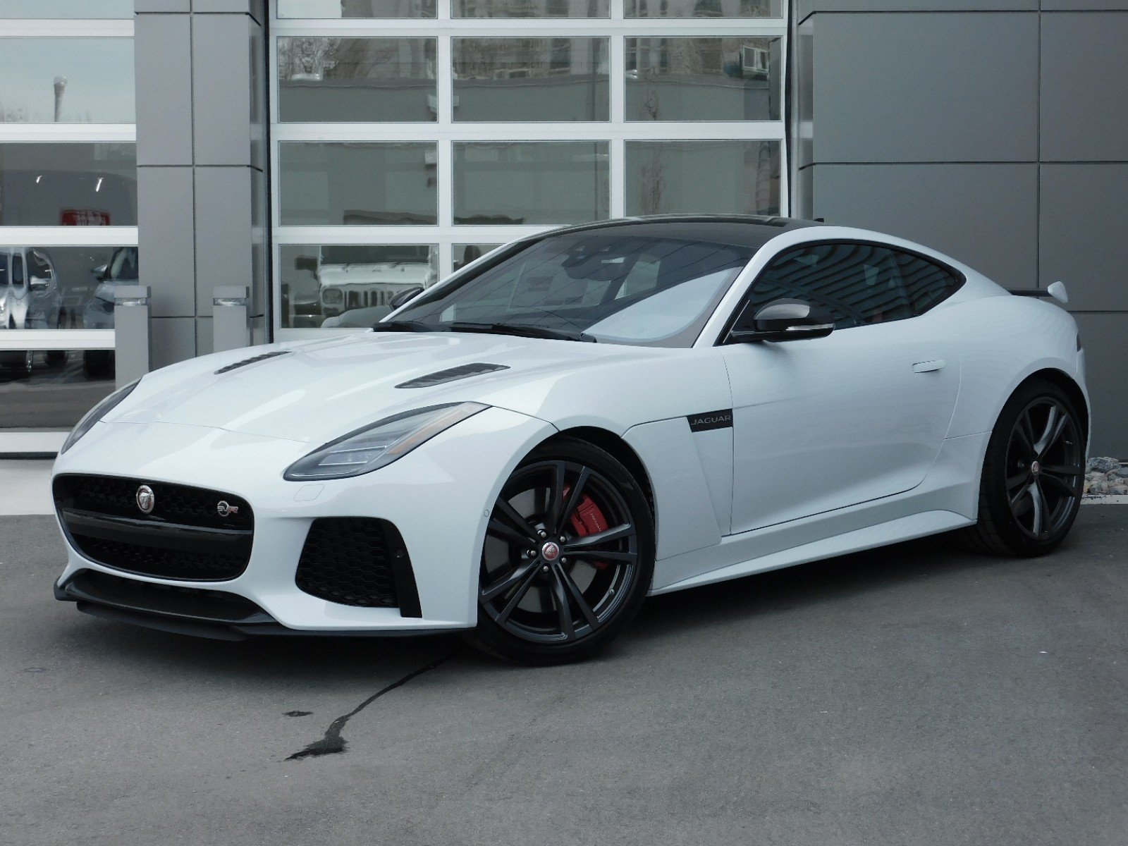 New 2020 Jaguar F Type Svr Coupe In Salt Lake City 1j0003 Jaguar