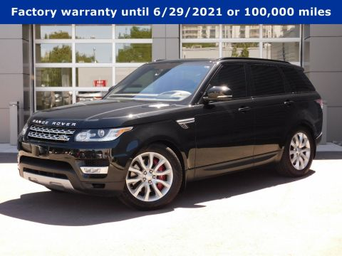 Pre-Owned 2016 Land Rover Range Rover Sport WAGON 4 DOOR